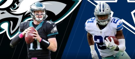 The Eagles and Cowboys clash Sunday. [Image via NFL/YouTube]