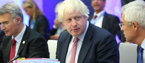 Boris Johnson halts foreign aid to North Korea. [Image Credit:Annika Haas]