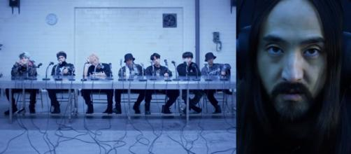 BTS (방탄소년단) 'MIC Drop (Steve Aoki Remix)' Official Teaser (Image Credit: ibighit/YouTube screencap)