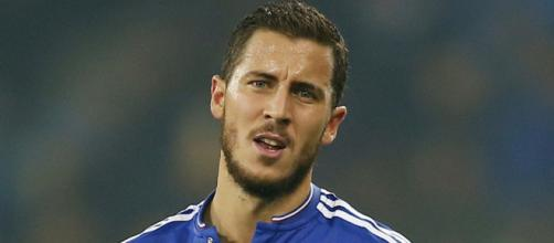 Chelsea star player, Eden Hazard in action in a past match. (Image Credit: Bola Motion/Flickr)