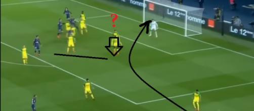 Confira dois dos gols mais improváveis que você já viu na partida de sábado entre PSG e Nantes - Foto/Divulgação