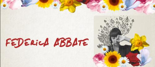 Federica Abbate, da penna di platino a cantante solista
