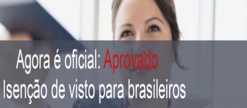 Isenção de vistos para brasileiros