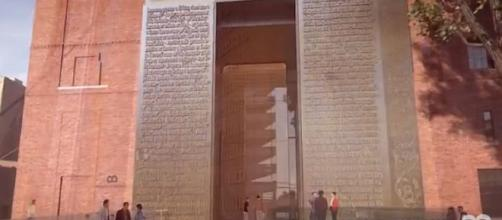 Museum of the Bible opened in Washington, DC on November 17, 2017 [Image: Museum of the Bible/YouTube screenshot]