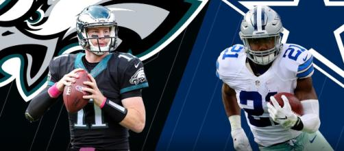 The Eagles and Cowboys clash Sunday. [Image via NFL/YouTube]