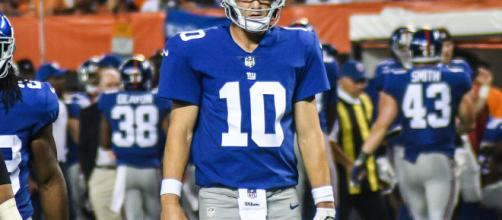 The New York Giants completely botched the handling of Eli Manning and their season - Erik Drost via Wikimedia Commons