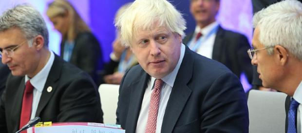 Boris Johnson halts foreign aid to North Korea. [Image Credit:Annika Haas]