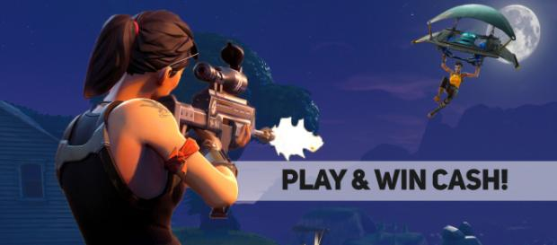 """Fortnite"" Battle Royale tournament! Image Credit: Own work"