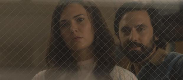 Jack and Rebecca Pearson 'This Is Us' characters; (Image Credit: This Is Us/YouTube screencap)