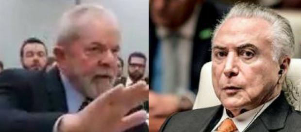 Lula compara governo de Michel Temer aos filmes 'O Exterminador do Futuro 1 e 2'. (Foto: Reprodução)
