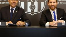 Lionel Messi signs new deal for Barcelona through to 2020/21 season
