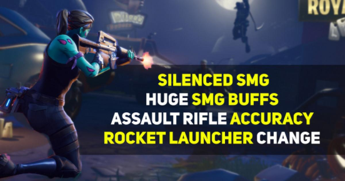 'Fortnite' Battle Royale upcoming update adds a silenced ...