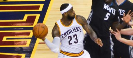 LeBron James' athleticism is amazing. Image Credit: Erik Drost / Flickr