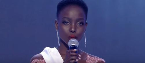 Kenya answers final question in Miss World pageant [Image Credit: Latino Vicente/YouTube]