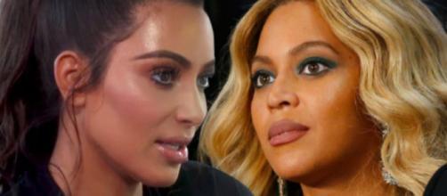 Kim Kardashian e Beyoncé são agora rivais
