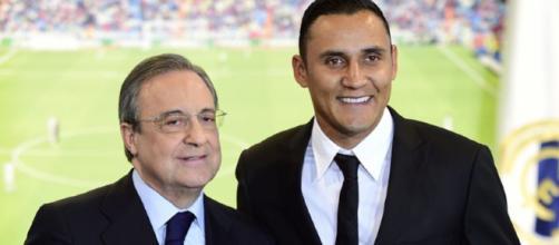 Pese al gran año de Navas, Florentino Pérez insistirá por De Gea ... - pasionfutbol.com