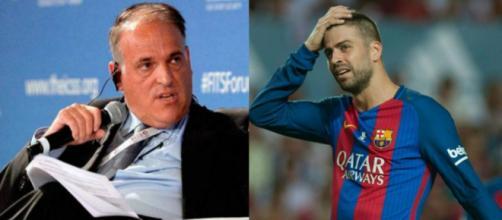 Tebas amenaza al Camp Nou si canta 'puta España' | Defensa Central - defensacentral.com