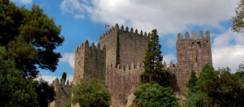 Vista exterior del Castillo de Guimaraes