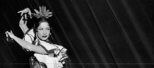 A dançarina de flamenco Carmen Amaya