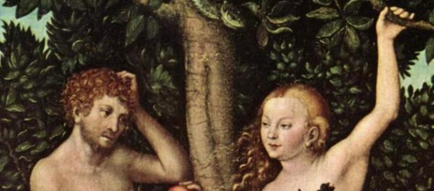 Adam and Eve by Lucas Cranach, the elder. - [Image via Wikimedia Commons]