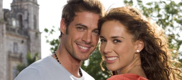 Alessandro e Maria José, protagonistas da novela 'Sortilégio'