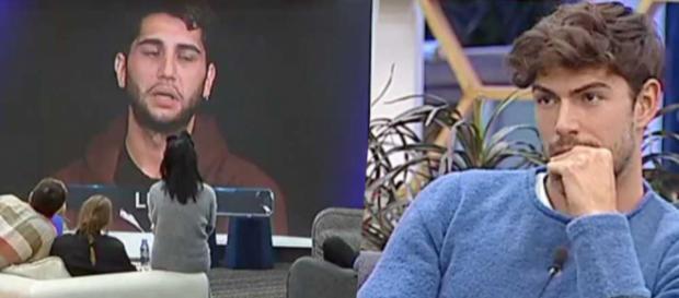 Gfvip: Jeremias Rodriguez attacca Ignazio Moser e Luca Onestini