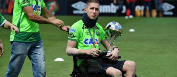 Pese haber perdido una pierna, Jackson Follmann volvió a las canchas- clarin.com