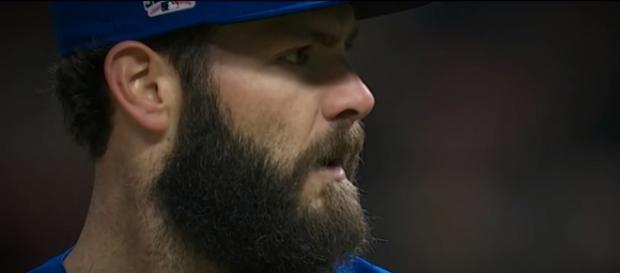 Reports surfacing about Milwaukee's interest in Jake Arrieta - [Image via- Baseball Vault / Youtube