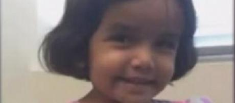 3-year-old Indian girl choked to death by adoptive father (Image via CBSDFW/YouTube)