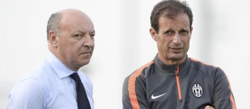 Allegri provoca gli uomini mercato della Juventus