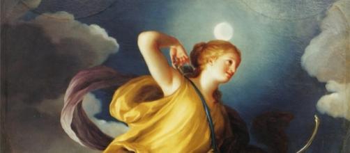 Artemisa como diosa de la noche, de Anton Raphael Mengs