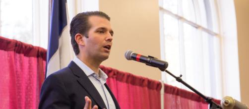 File: Donald Trump Jr. at rally in Iowa.jpg - Wikimedia Commons