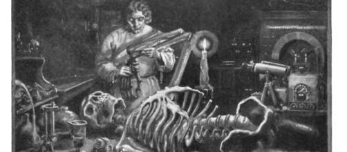 Frankenstein o el moderno prometeo es una obra escrita por la autora Mary Shelley (Via Wikipedia)