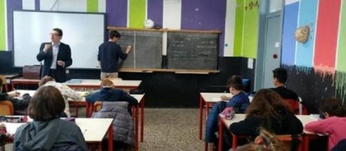 Giunti e Romaco alla scuola Punche, lezione di ius soli