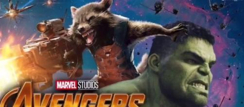 Hulk and Rocket Raccoon Are Best Buddies in Avengers Infinity War! [Image Credit: C-Reel Productions/ YouTube screencap]