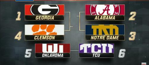 College football matchups: (Image Credit - ESPN/YouTube Screencap)