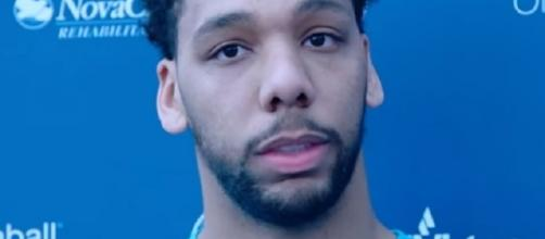 Jahlil Okafor will remain on the bench until he's traded (Image Credit: Philadelphia 76ers/YouTube)