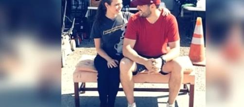 Jinger Duggar enjoying time with her husband. -- YouTube screen capture / Duggar Family: Breaking News