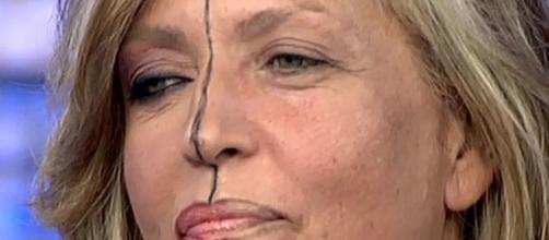 Las dos caras de Lydia Lozano.