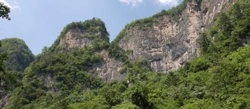 Mountains in North Korea (Image credit: Stephan/Wikimedia Commons)