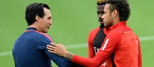 Neymar et Unai Emery ne s'entendraient déjà plus au PSG - thesun.co.uk