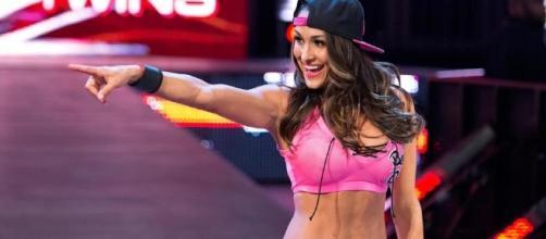 Nikki Bella from a screenshot of tv