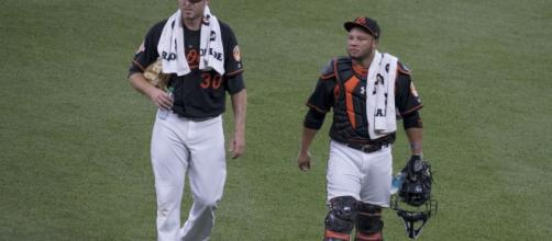 RHP Chris Tillman and C Wellington Castillo among group of Orioles' free agents. (Photo credit: Wikimedia/Keith Allison)