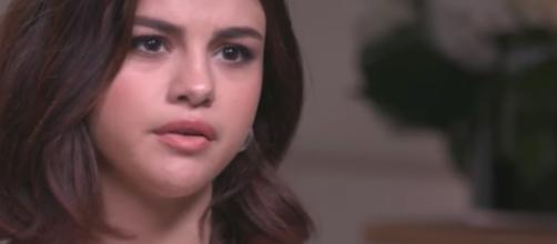 Selena Gomez speaks in an interview. [Image by NBC News/YouTube]