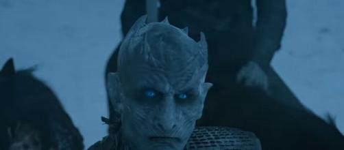 The Night King from 'Game of Thrones'/ Photo: screenshot via GameofThrones channel on YouTube