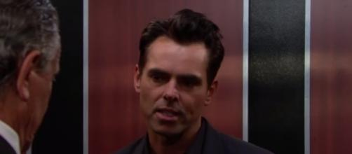 'Y&R' spoilers - Billy's heroics might save him from Victor and Victoria's wrath (Image via YouTube The Young and the Restless)