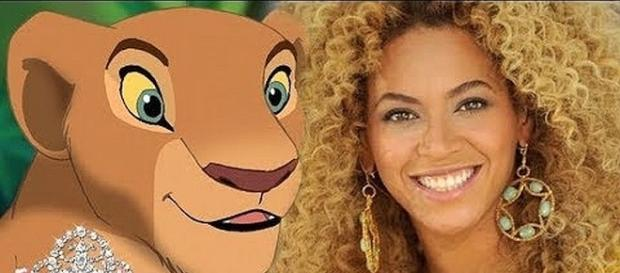 Beyonce stars in 'The Lion King' [Image: Empressive/YouTube screenshot]