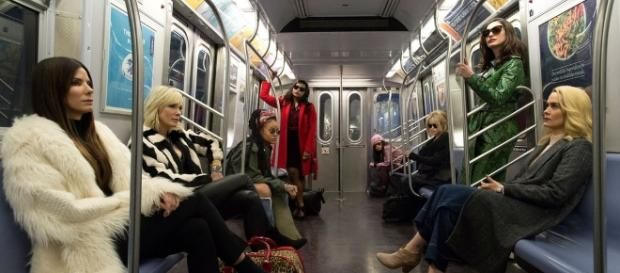"First Released Photo for ""Ocean's Eight"" Shows Female Cast Looking ... - partneredprogress.org"