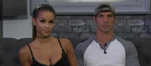 Jessica Graf and Cody Nickson from screenshot