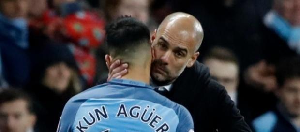 Sergio Aguero Manchester City.